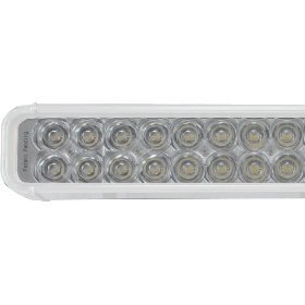 Xil 1000w 52 led xmitter light bar with 100 huge led lights and image 52 led xmitter light bar with 100 huge led lights and white housing aloadofball Image collections
