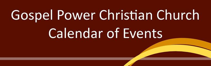 Church Calendar of Events Church Calendar of Events