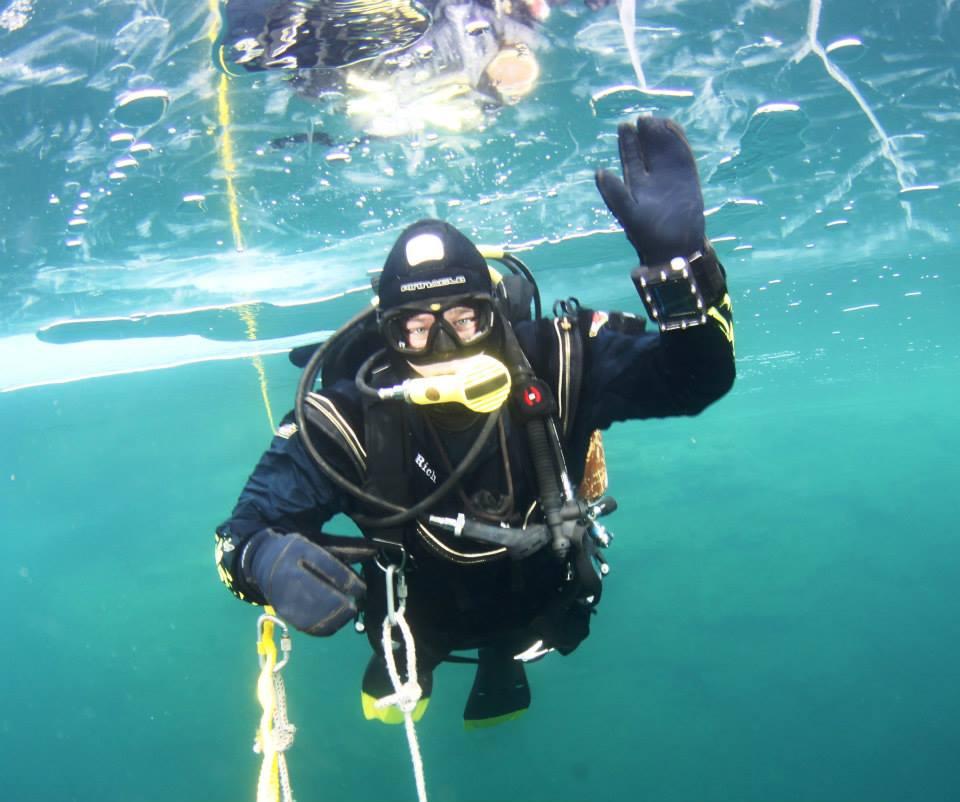 Padi Ice Diver