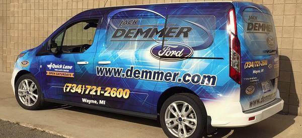 Commercial Vehicle Graphics Wraps