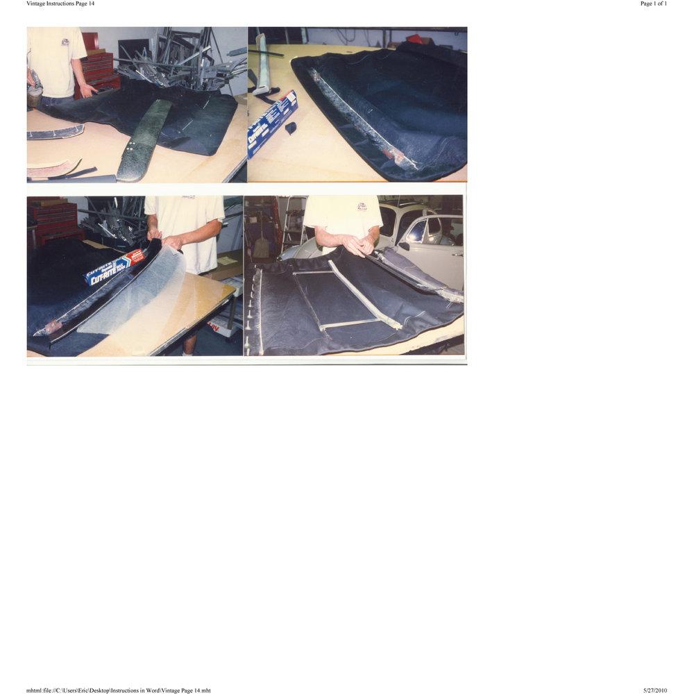 Vw Bug Sunroof Headliner: Britax Ragtop Installation Download Free