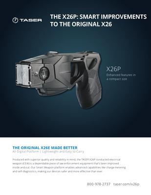 Taser X26p Battery