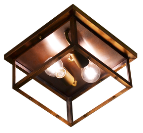 The coppersmith 4 side copper ceiling light 4 side copper ceiling juniper j4h ceiling light aloadofball Gallery