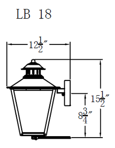 GCL-LB Long Beach Lantern Long Beach Gas or Electric