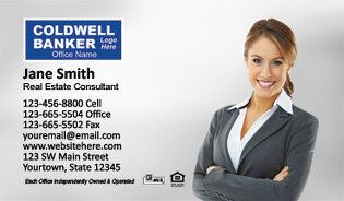 Coldwell Banker Business Cards Designs Logo Templates - Coldwell banker business card template