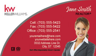 Keller Williams Business Cards Designs Signs Logo Templates - Keller williams business card templates
