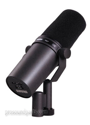 shure sm7b dynamic vocal microphone with bass roll off and. Black Bedroom Furniture Sets. Home Design Ideas