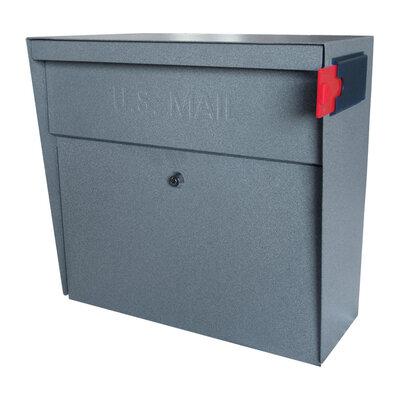 dark bronze wall mount mailbox locking mail box leaf variati