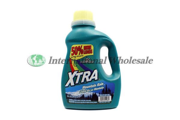 Wholesale Xtra 2x Liquid Laundry Detergent Mt Rain 6 75