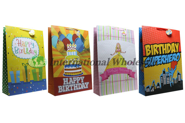 Wholesale BIRTHDAY KIDS GIFT BAG SUPER GIANT 48 CS Suppliers Import