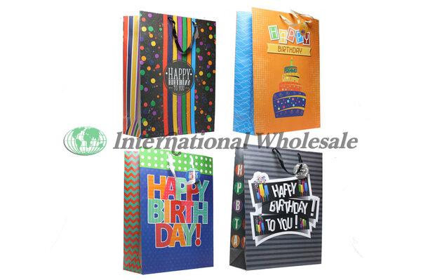 BIRTHDAY FUN ADULT GIANT GIFT BAG 48 CS