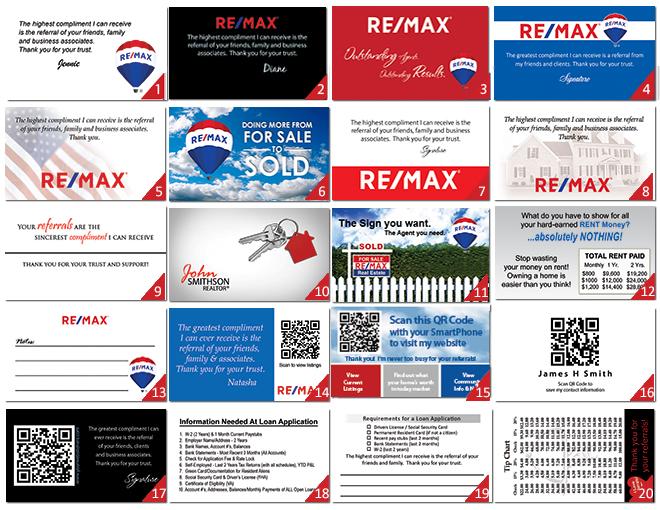 Remax business cards designs logo templates remaxbacks colourmoves