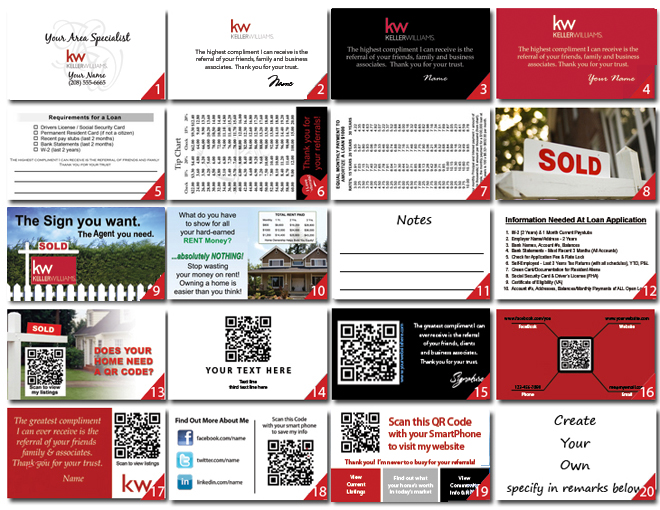 Keller williams business cards designs signs logo templates reheart Image collections