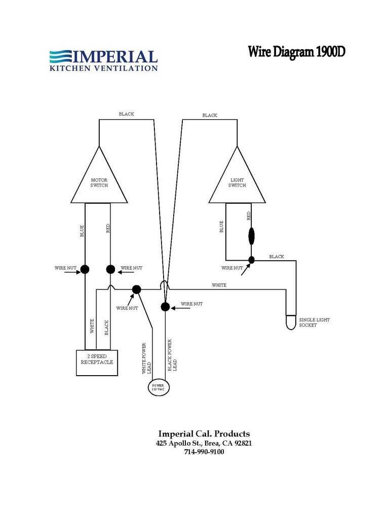 wiring diagram for a range hood range hood wiring #5