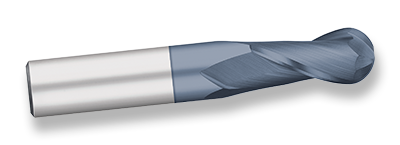 AlTiN Coated 1 Shank Diameter 1-1//2 Cutting Diameter 30 degree Angle Helix Non Center Cutting 2 Length of Cut Square End Titan TE69582 High Speed Steel End Mill 4-1//2 Overall Length