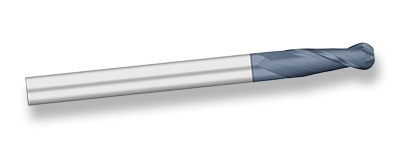 Titan TC11132 Ball End Mill Standard Length 2 Flute 30° Helix AlTiN Details about  /Pack of 1